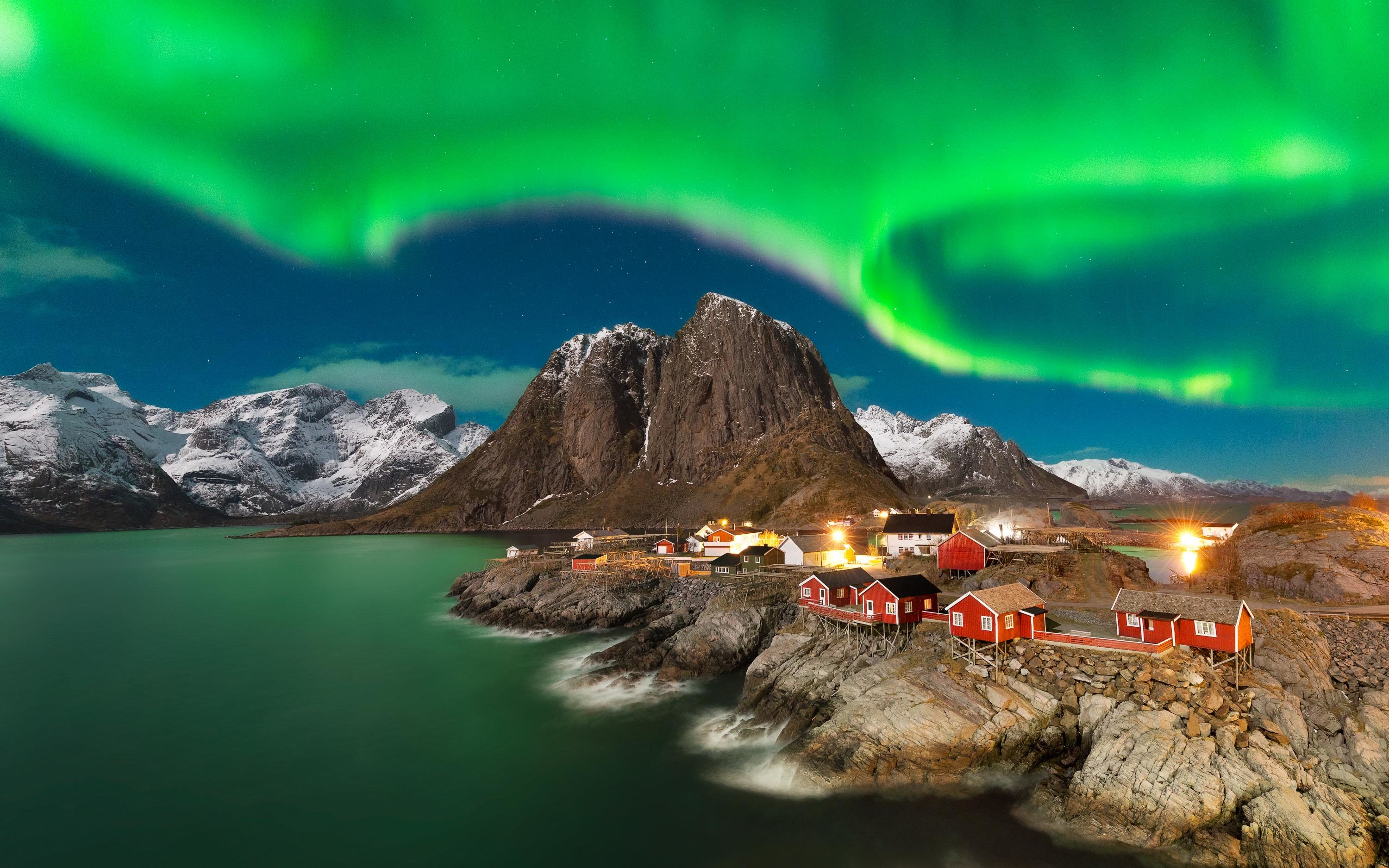 Northern Lights at Lofoten - Norway