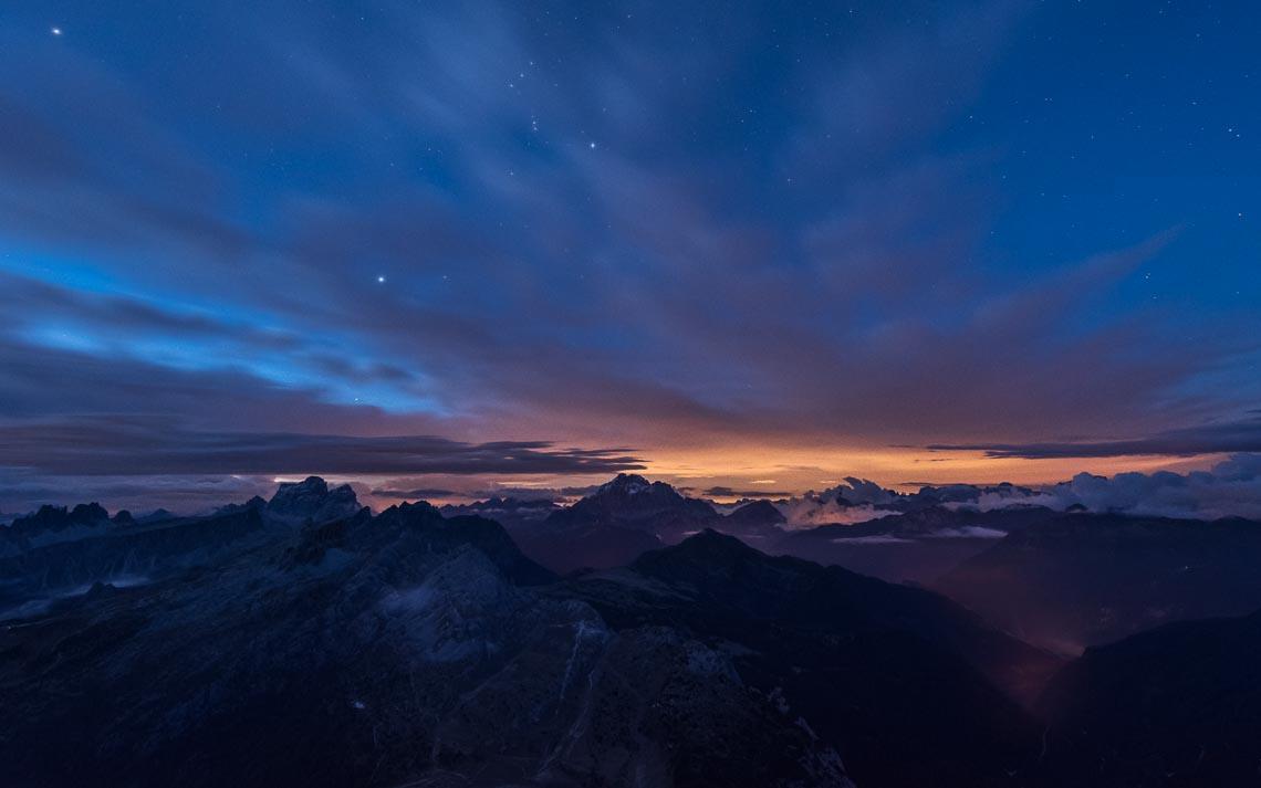 Dolomiti Nikon School Workshop Paesaggio Notturna Via Lattea Startrail 00045