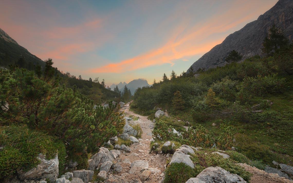 Dolomiti Nikon School Workshop Paesaggio Notturna Via Lattea Startrail 00048