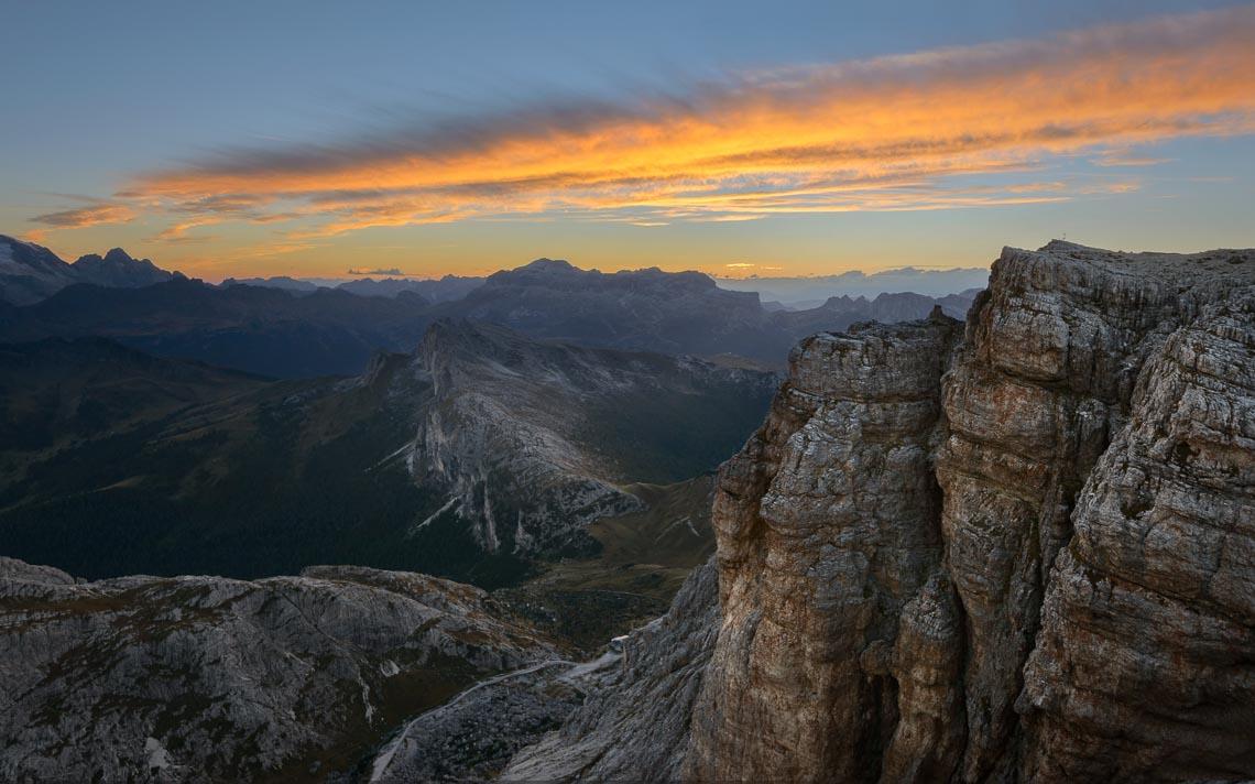 Dolomiti Nikon School Workshop Paesaggio Notturna Via Lattea Startrail 00053