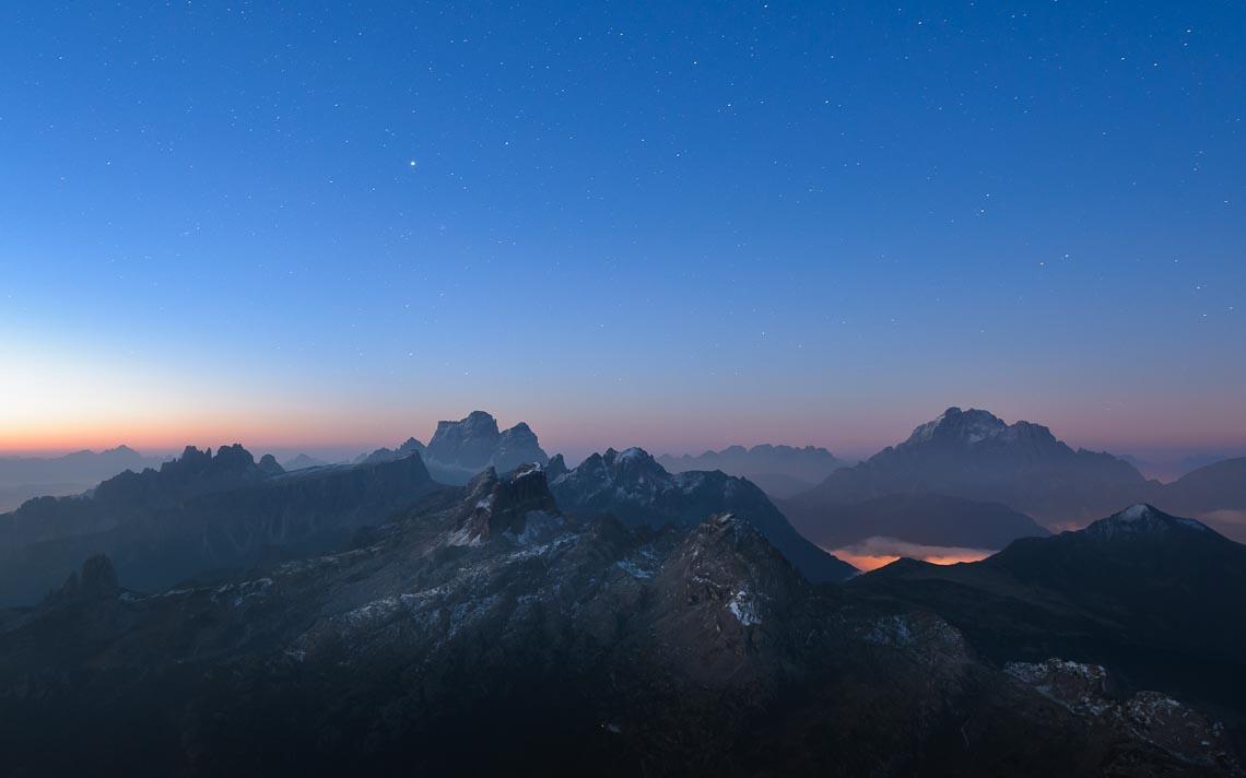 Dolomiti Nikon School Workshop Paesaggio Notturna Via Lattea Startrail 00056