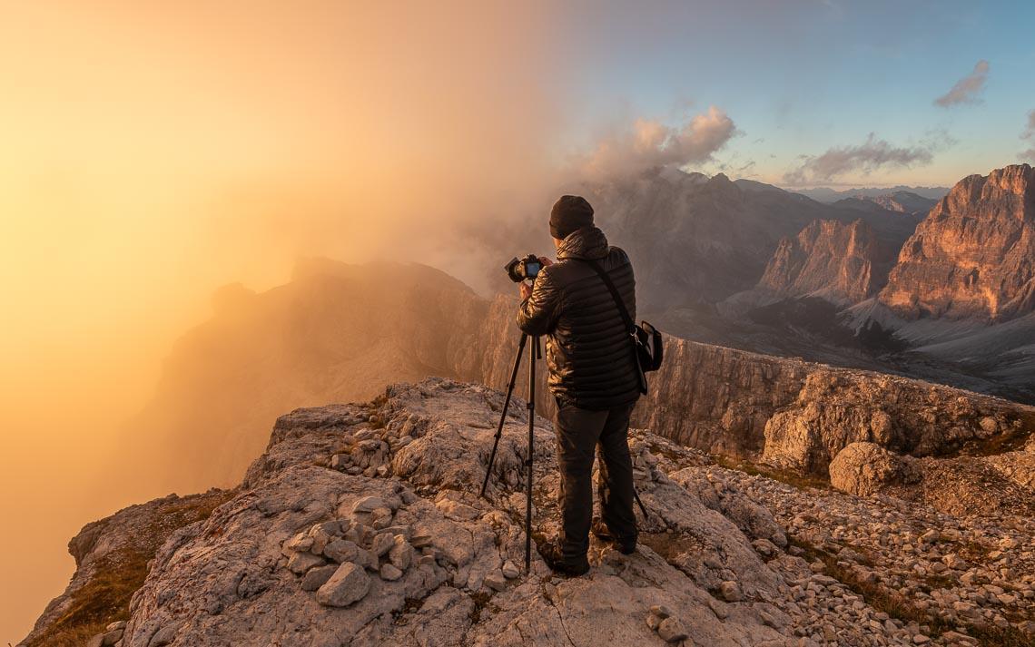 Dolomiti Rifugi Nikon School Workshop Paesaggio Notturna Via Lattea Startrail 00056