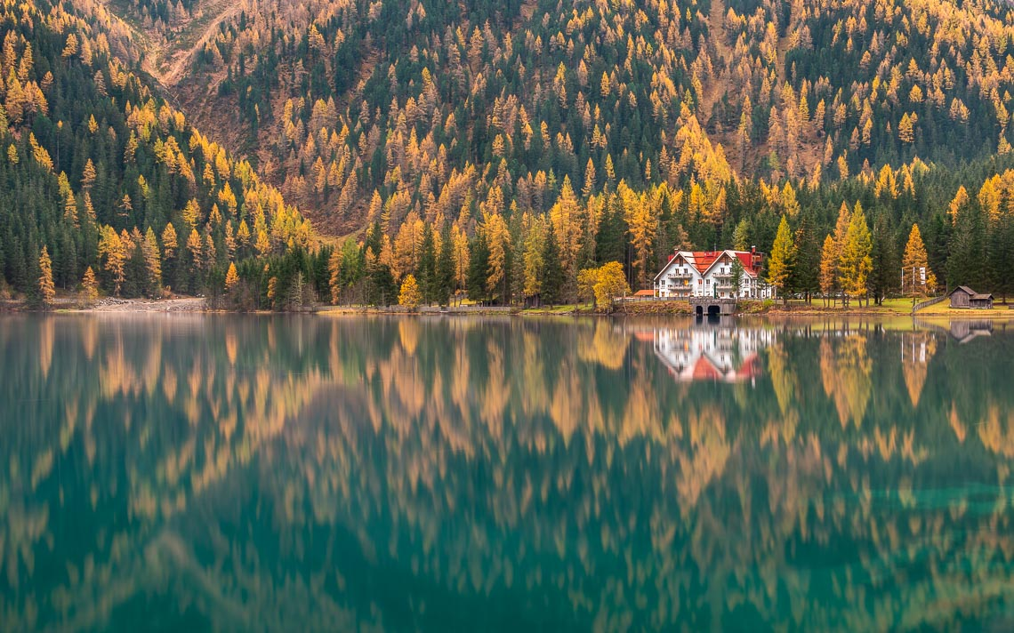 Dolomiti Foliage Autunno Nikon School Workshop Paesaggio Notturna Via Lattea Startrail 00035